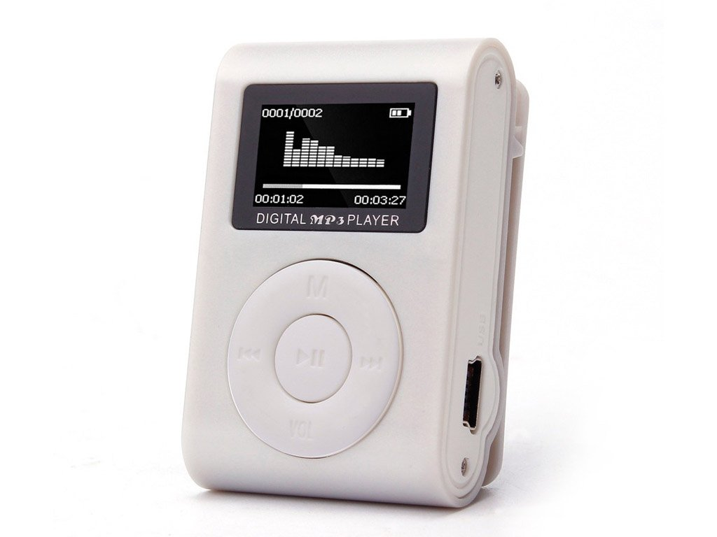 Mini MP3 Player with Display. FREE Shipping!